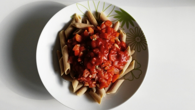healthy, easy and cheap pasta